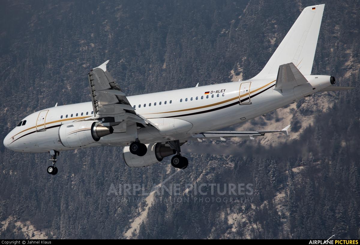 DC Aviation D-ALEY aircraft at Innsbruck