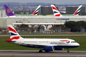 G-DBCH - British Airways Airbus A319