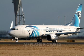SU-GEA - Egyptair Boeing 737-800