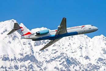 OE-LVJ - Austrian Airlines/Arrows/Tyrolean Fokker 100