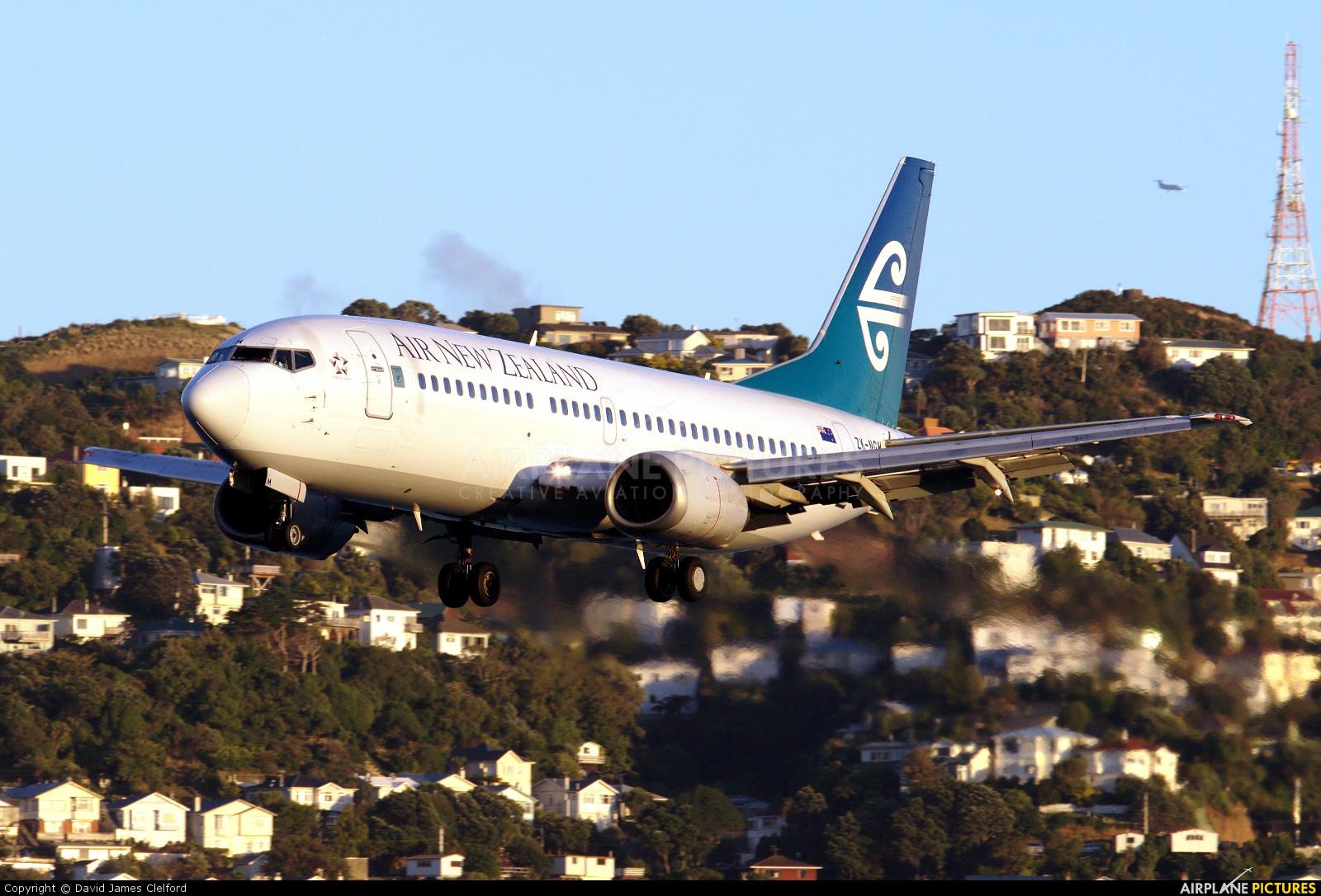 Air New Zealand ZK-NGM aircraft at Wellington Intl