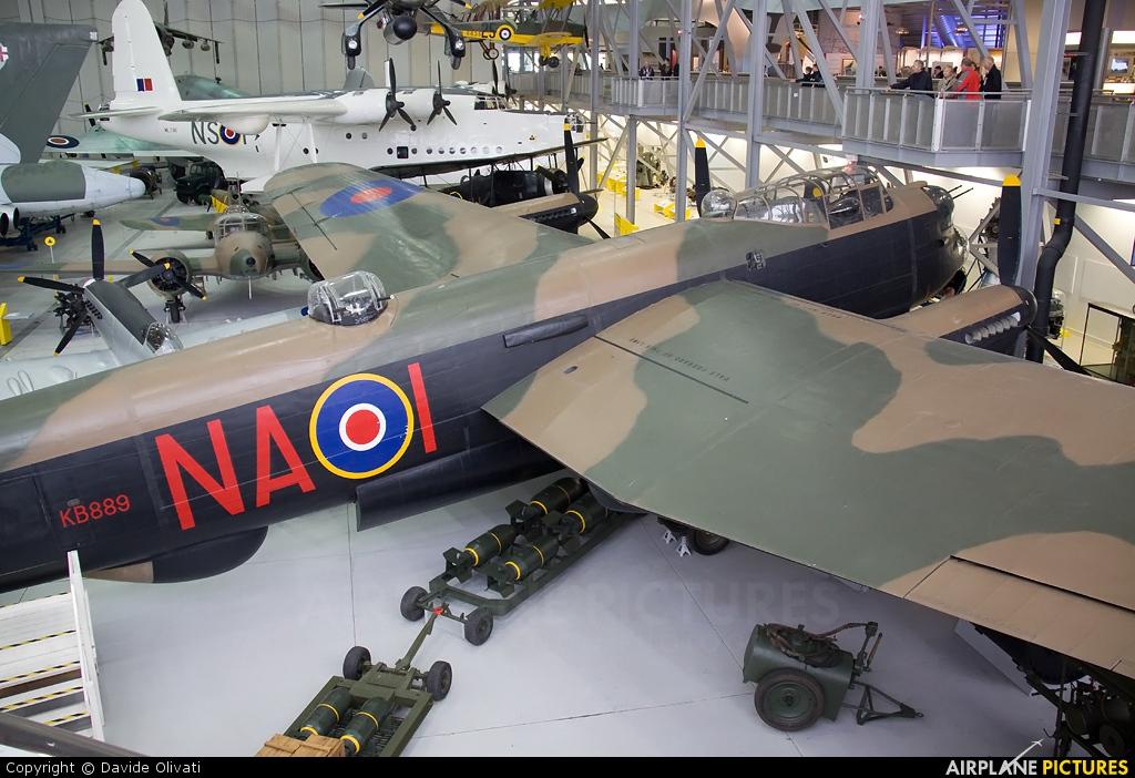 Royal Air Force KB889 aircraft at Duxford