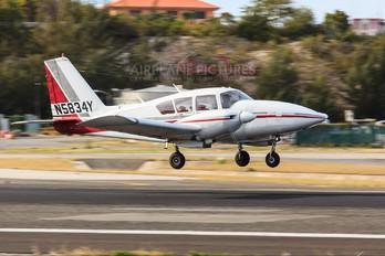 N5834Y - Private Piper PA-23 Apache