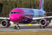 HA-LPZ - Wizz Air Airbus A320 aircraft