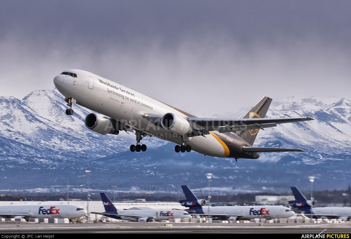 UPS - United Parcel Service N338UP aircraft at Anchorage - Ted Stevens Intl / Kulis Air National Guard Base