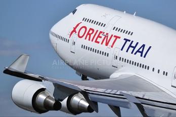 HS-STI - Orient Thai Airlines Boeing 747-400