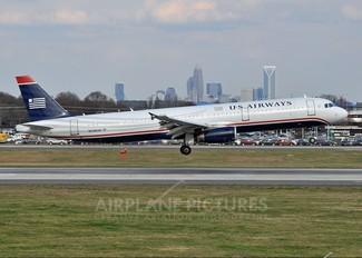 N538UW - US Airways Airbus A321