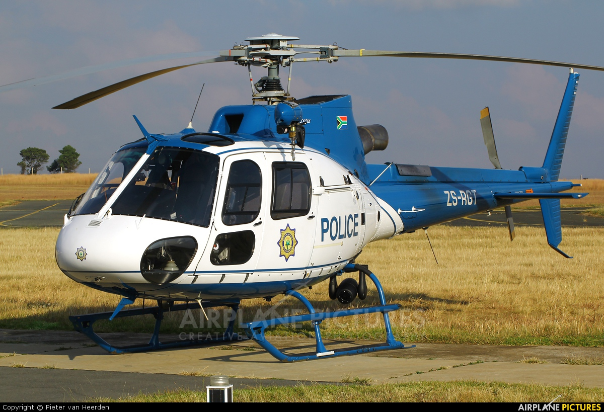 South Africa - Police ZS-RGT aircraft at Johannesburg - Rand