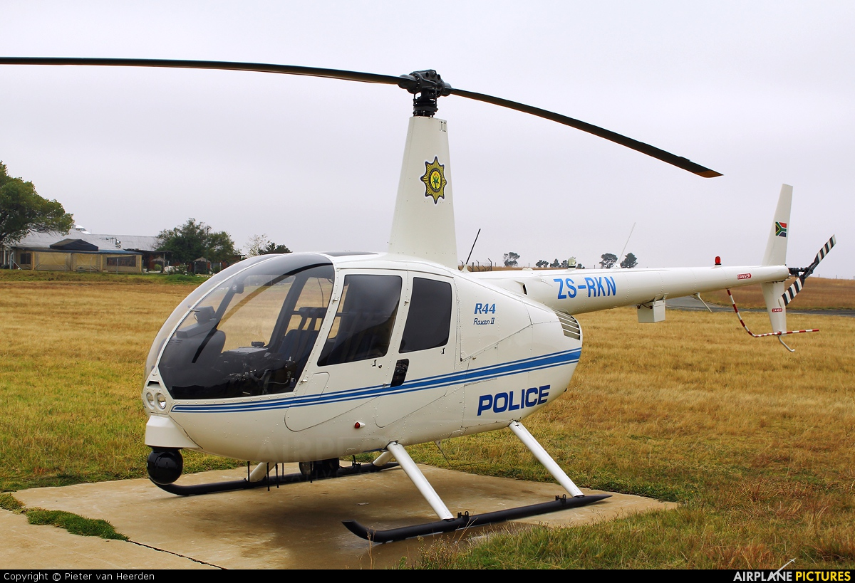 South Africa - Police ZS-RKN aircraft at Johannesburg - Rand