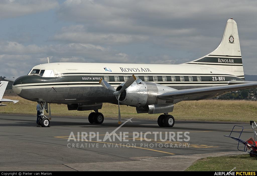 Rovos Air ZS-BRV aircraft at Pietermaritzburg
