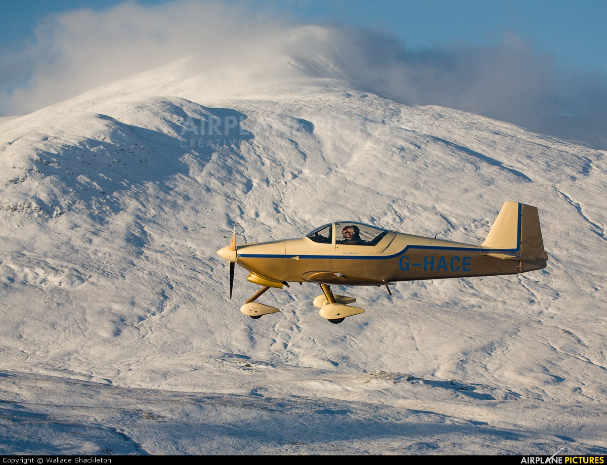 Private G-HACE aircraft at In Flight - Scotland