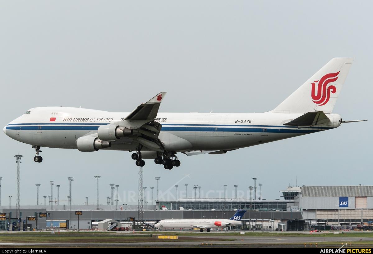 Air China Cargo B-2475 aircraft at Copenhagen Kastrup