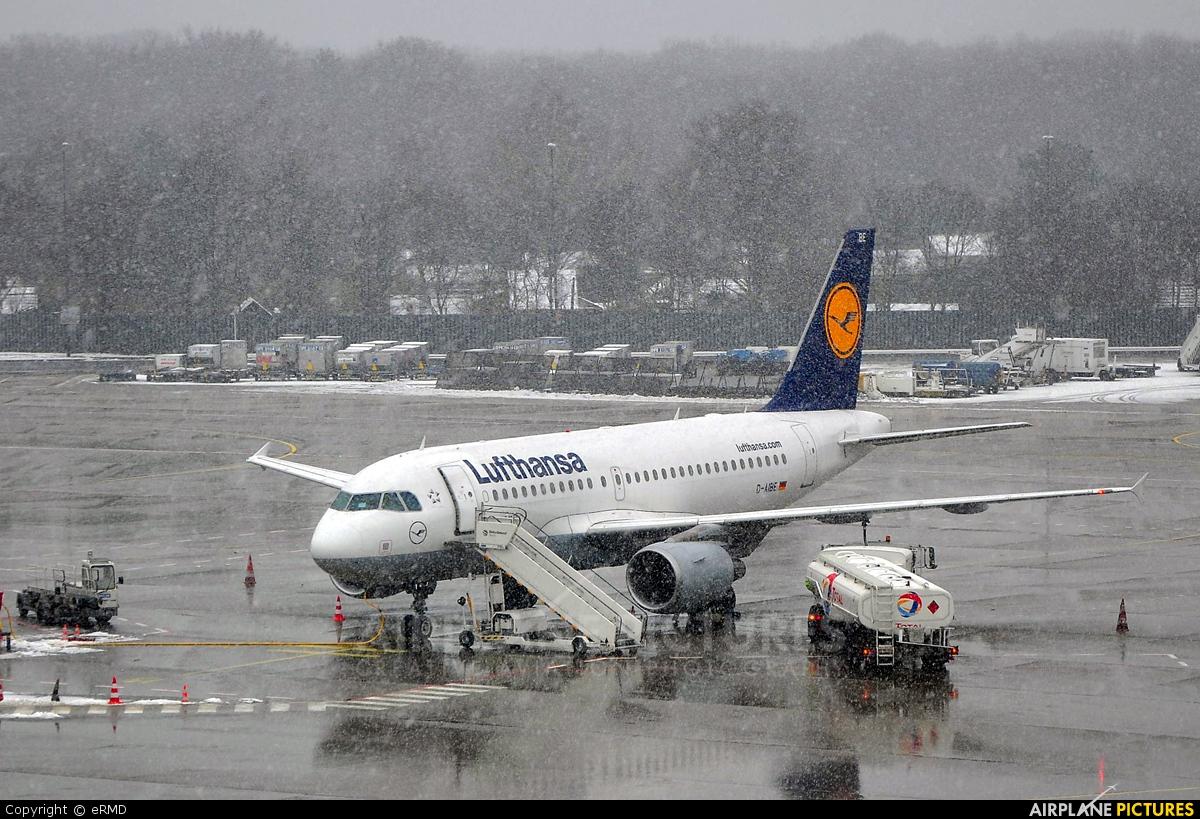 Lufthansa D-AIBE aircraft at Berlin - Tegel