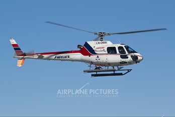 LN-OMB - Airlift AS (Norway) Eurocopter AS350 Ecureuil / Squirrel