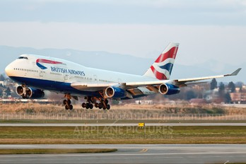 G-BNLM - British Airways Boeing 747-400