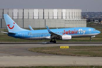 OO-JPT - Jetairfly (TUI Airlines Belgium) Boeing 737-800