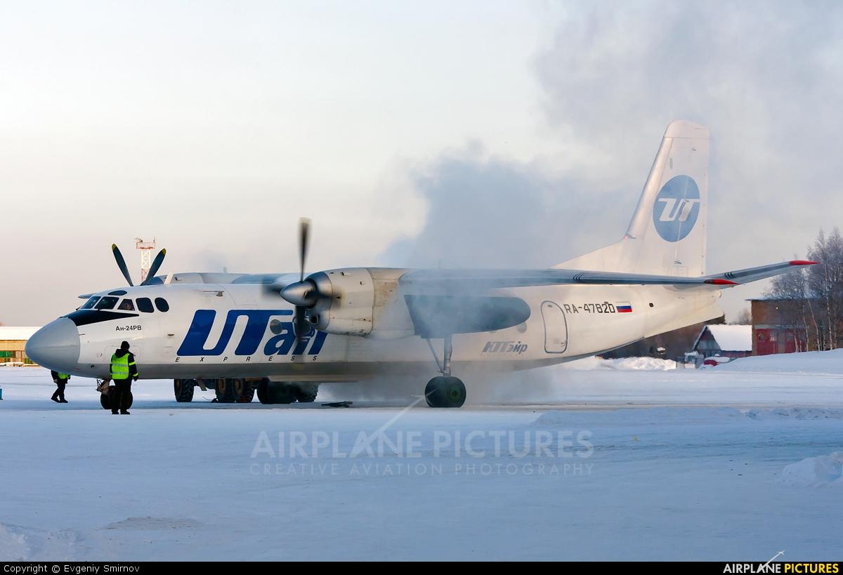 UTair RA-47820 aircraft at Ukhta
