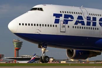 EI-XLB - Transaero Airlines Boeing 747-400