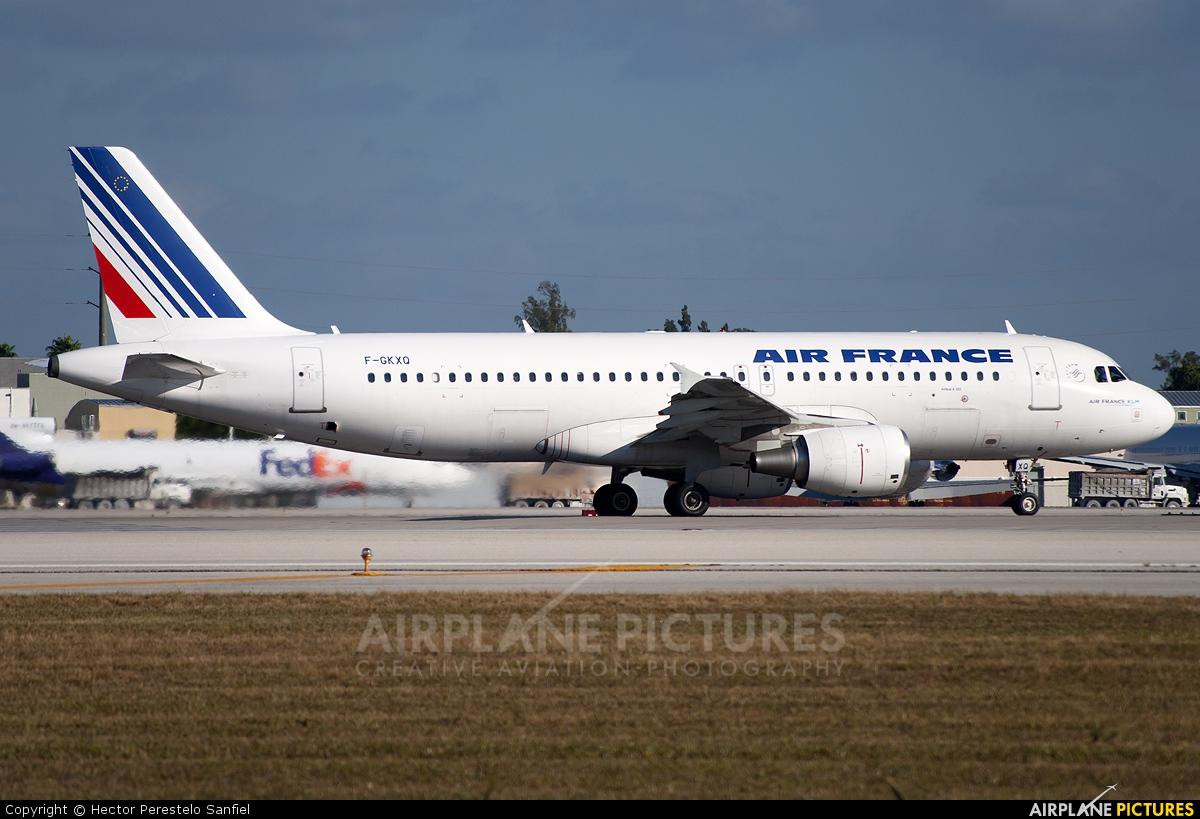 F gkxq air france airbus a320 at miami intl photo id for Airbus a320 air france interieur