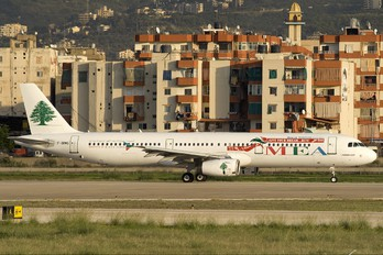 F-ORMG - MEA - Middle East Airlines Airbus A321