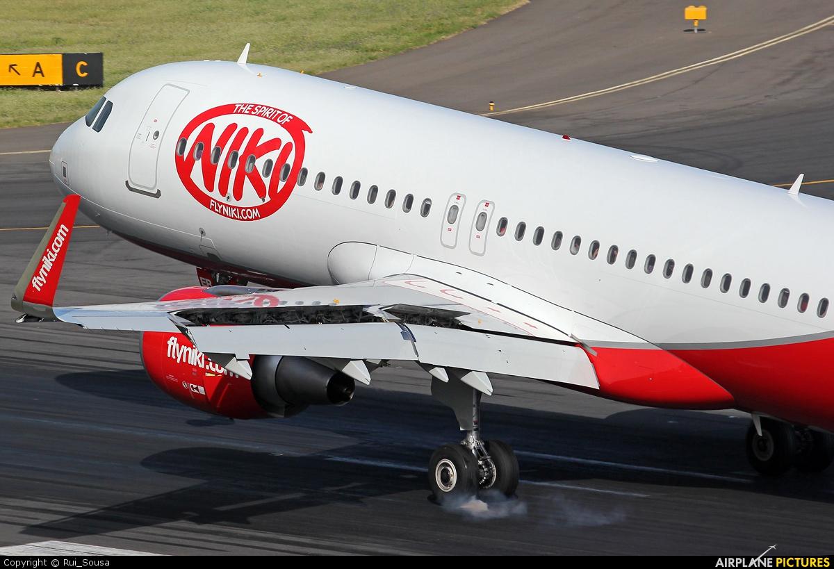 Niki OE-LER aircraft at Madeira