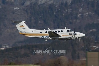 LN-SUZ - Sundt Air Beechcraft 200 King Air