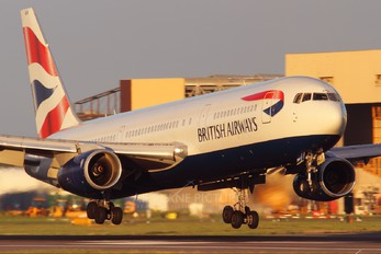 G-BNWW - British Airways Boeing 767-300
