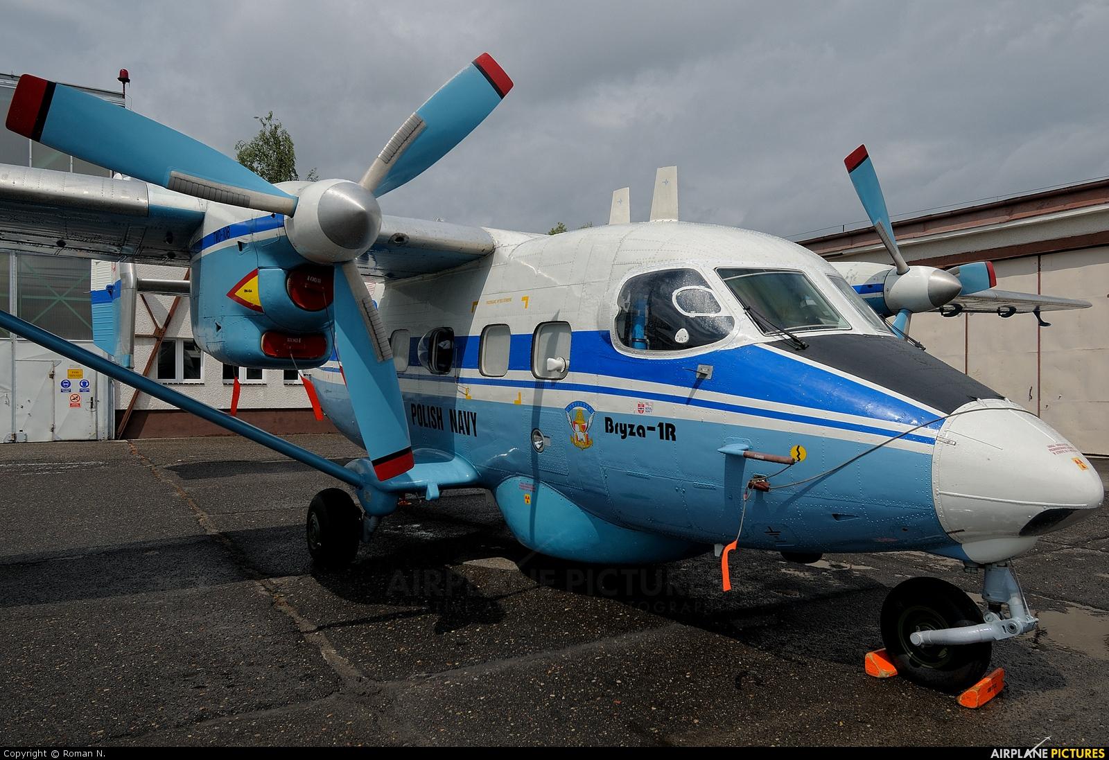 Poland - Navy 1008 aircraft at Bydgoszcz - Szwederowo