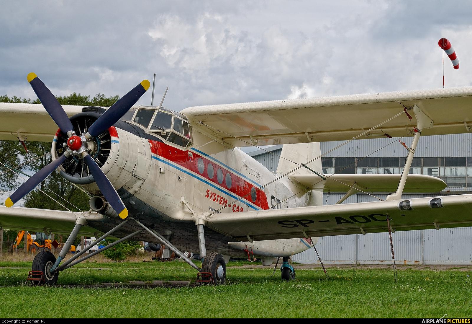 Aeroklub Bydgoski SP-AOC aircraft at Bydgoszcz - Szwederowo