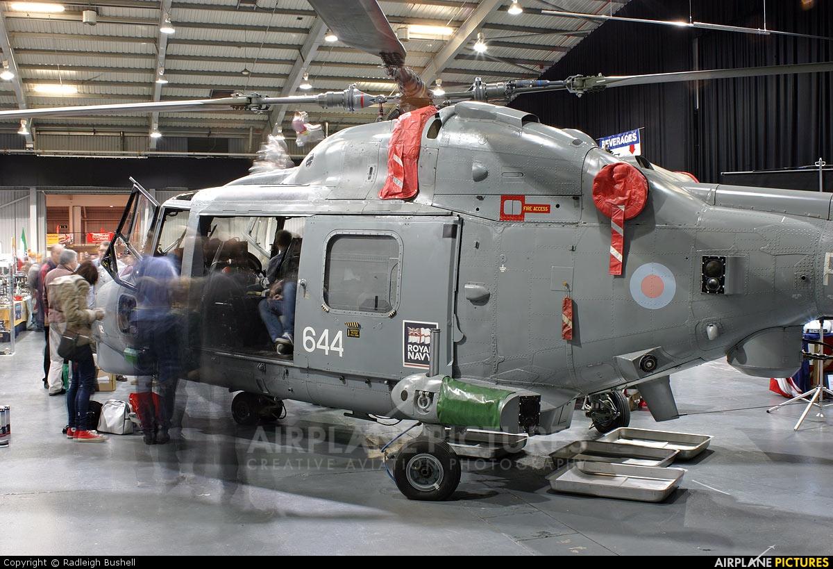 Royal Navy ZD265 aircraft at Off Airport - England