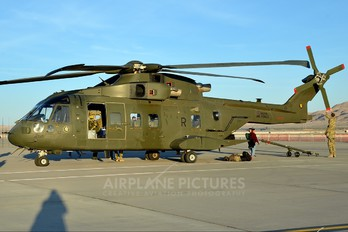 ZJ133 - Royal Air Force Agusta Westland AW101 411 Merlin HC.3