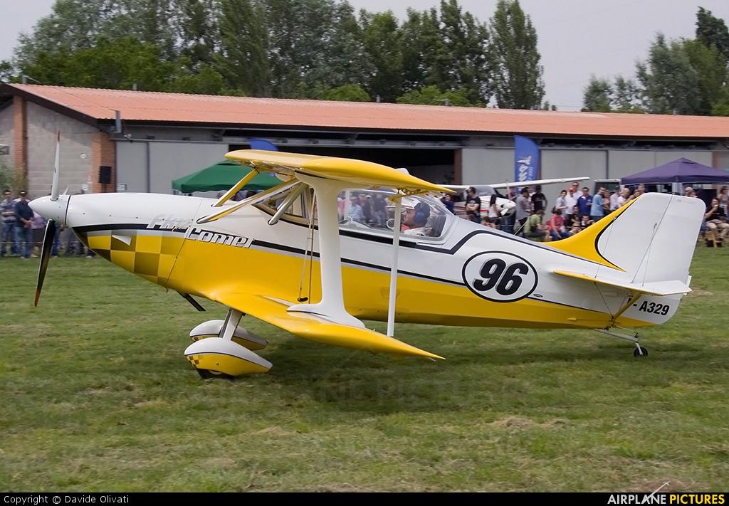Private I-A329 aircraft at Bergamo - Caravaggio