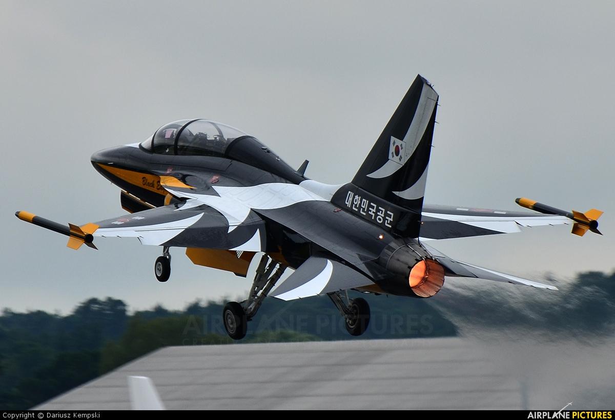 Korea (South) - Air Force: Black Eagles 10-0056 aircraft at Farnborough
