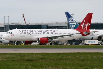 EI-EZW - Virgin Atlantic Airbus A320