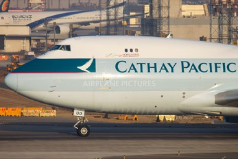 B-HUO - Cathay Pacific Cargo Boeing 747-400F, ERF