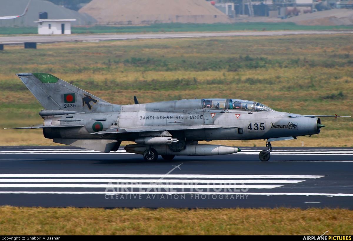 Bangladesh - Air Force 2435 aircraft at Dhaka - Hazrat Shahjala Intl