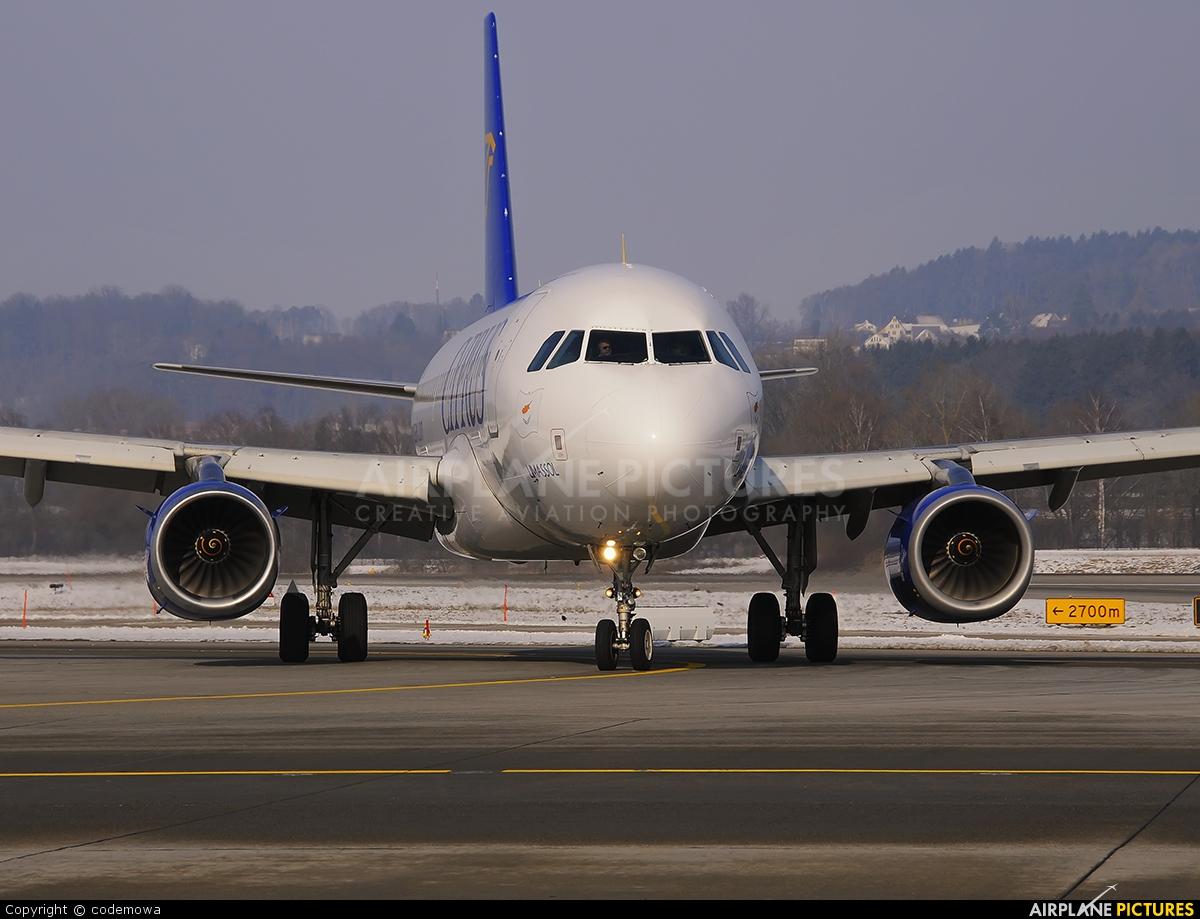Cyprus Airways 5B-DCN aircraft at Zurich