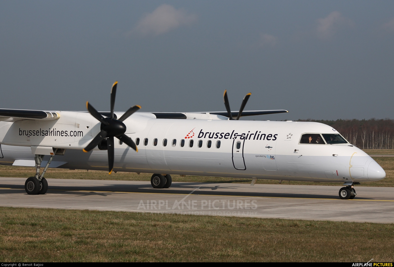 Brussels Airlines G-JECY aircraft at Hannover - Langenhagen