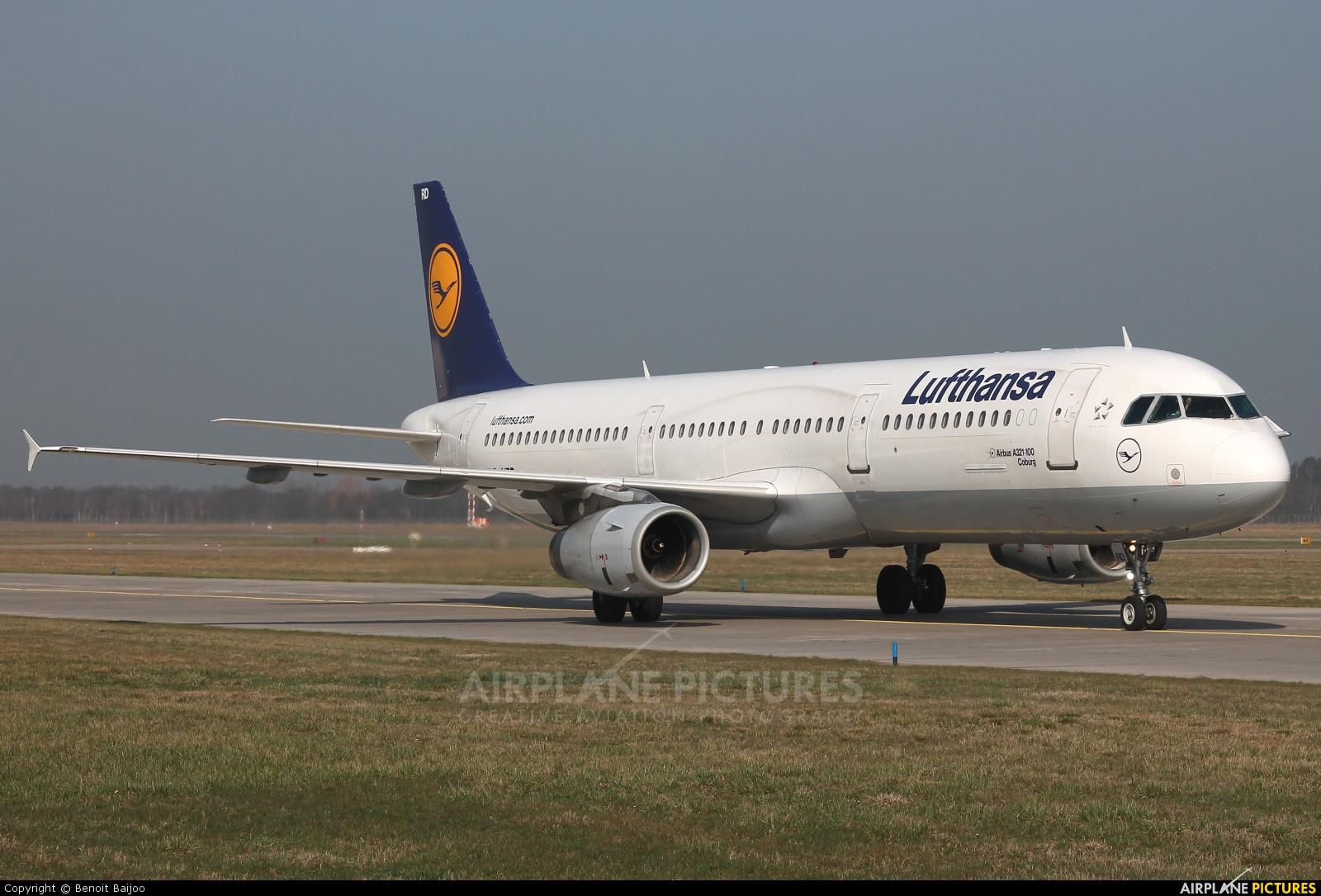 Lufthansa D-AIRD aircraft at Hannover - Langenhagen