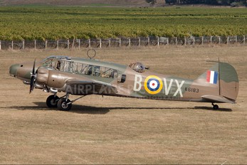 ZK-RRA - Private Avro 652 Anson (all variants)