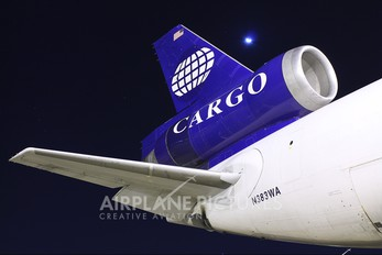 N383WA - World Airways Cargo McDonnell Douglas MD-11F