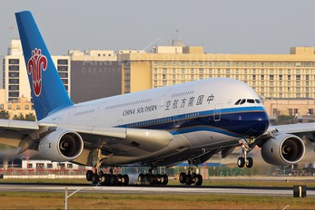 B-6140 - China Southern Airlines Airbus A380