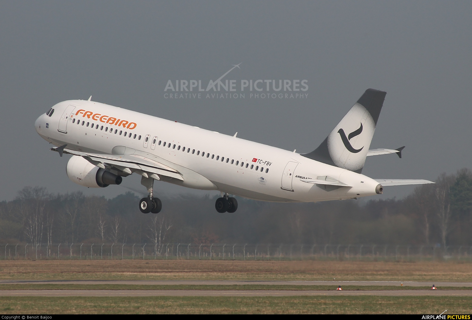 FreeBird Airlines TC-FBV aircraft at Hannover - Langenhagen