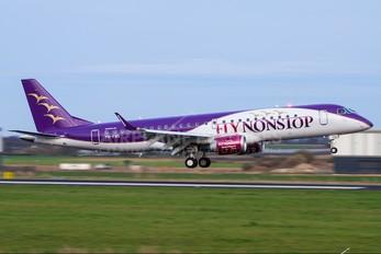PH-FNS - FlyNonStop Embraer ERJ-190 (190-100)