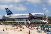N537JT - JetBlue Airways Airbus A320 aircraft
