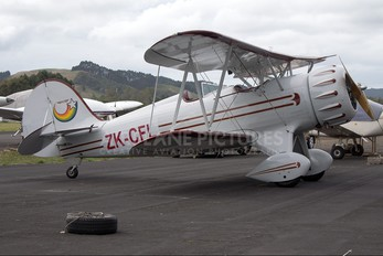 ZK-CFL - Private Waco Classic Aircraft Corp YMF-5C
