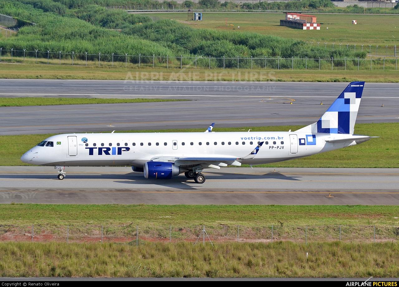 Trip Linhas Aéreas PP-PJV aircraft at São Paulo - Guarulhos