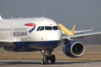 G-DBCH - British Airways Airbus A319