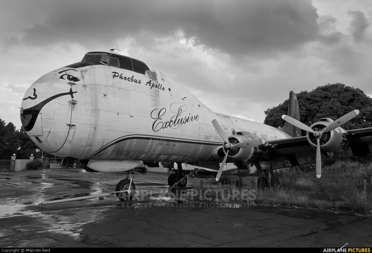 Phoebus Apollo Aviation 9J-PAA aircraft at Johannesburg - Rand
