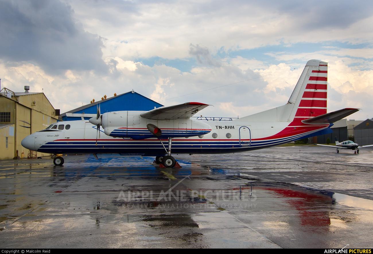 Unknown TN-AHH aircraft at Johannesburg - Rand